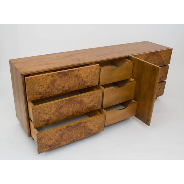 Olive Burl Wood Credenza or Dresser by Milo Baughman for Lane - Image 7 of 8