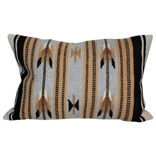 Navajo Indian Weaving Arrows Bolster Pillow