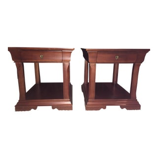 Thomasville Martinique Side Tables - A Pair
