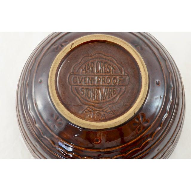 Brown Rustic Stoneware Bowl - Image 4 of 5