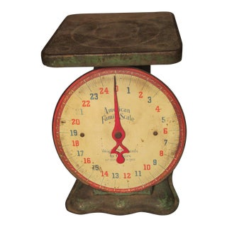 Chicago Manufactured Vintage Family Scale