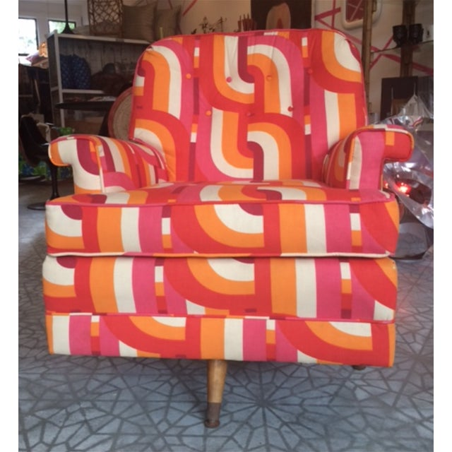 Image of Mid Century Swivel and Rocking Chair