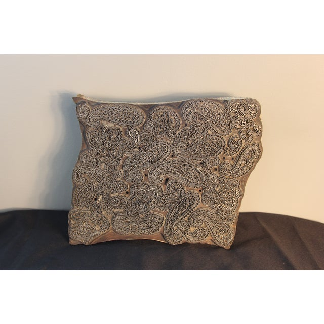 Antique Italian Paisley Fabric Mold - Image 3 of 5