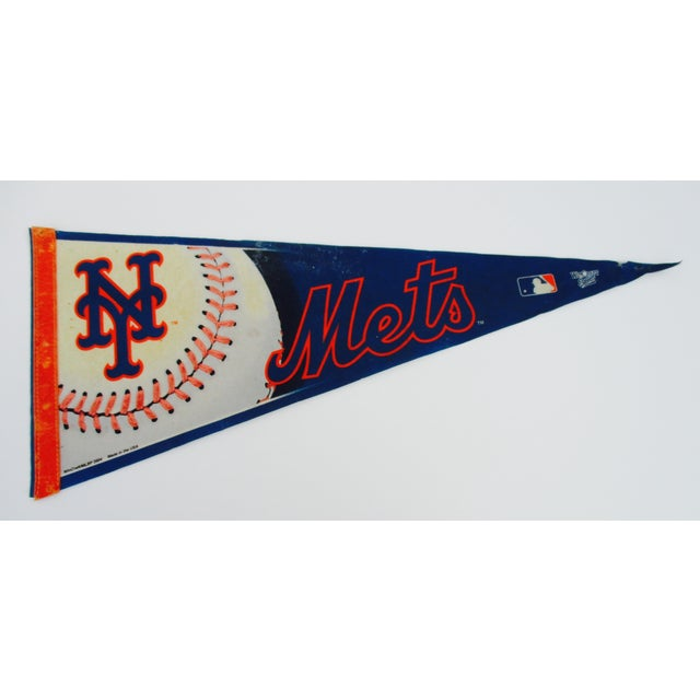 New York City Mets Knicks Pennants - Set of 5 - Image 3 of 10