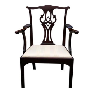 18th Century Philadelphia Chippendale Armchair