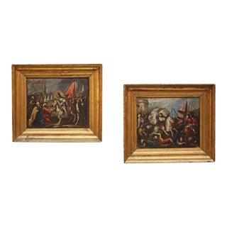 Scenes from the Turkish War Attributed to Juan Antonio de Frias y Escalante