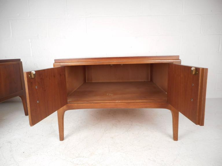 Lane Furniture Mid Century Low End Tables   A Pair   Image 5 Of 8