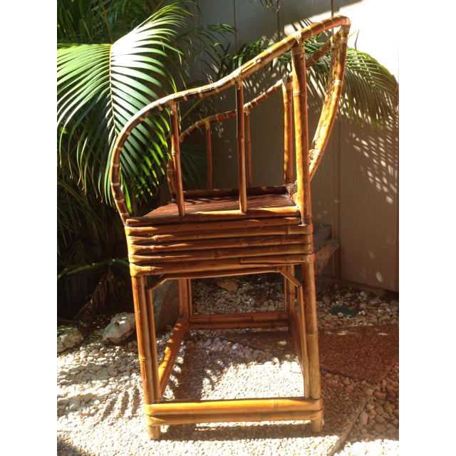 Antique Chinese Wooden Chair - Image 3 of 7