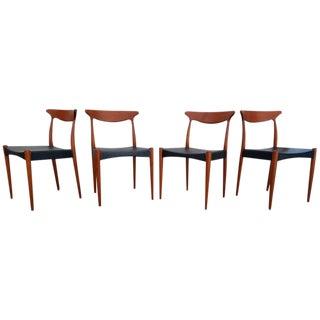 Arne Hovmand Olsen Teak Danish Modern Dining Chairs