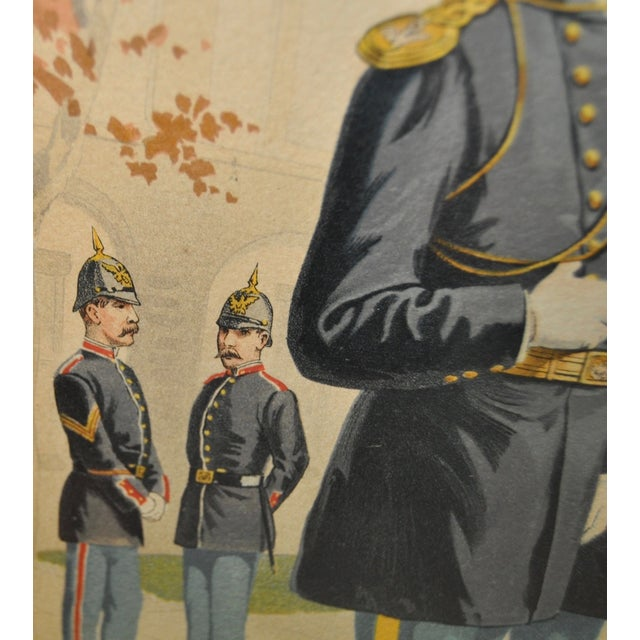 Image of U.S. Military Academy Color Lithograph C.1888