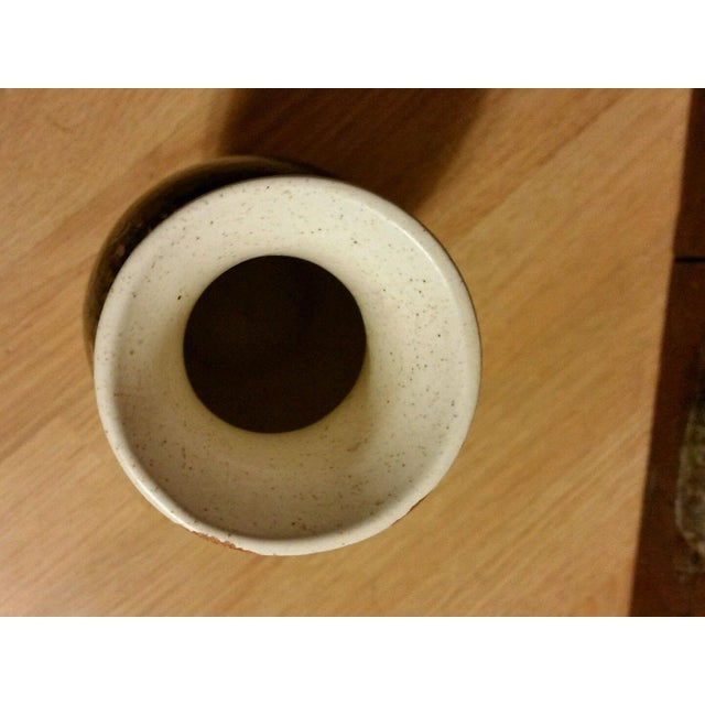 Royal Haeger Blue Lava Vase - Image 6 of 6