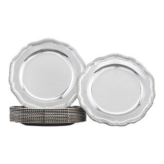 Royal Sterling Dinner Plates