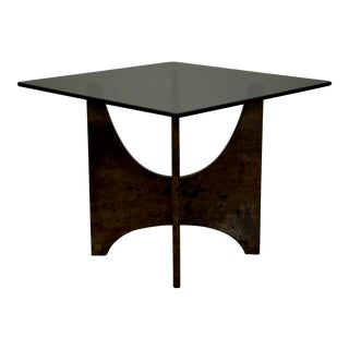 Aldo Tura Parabolic Panel Occasional Table