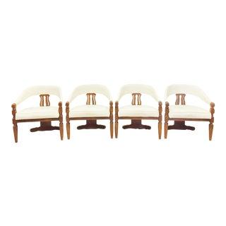 Vintage Regency Chairs - Set of 4
