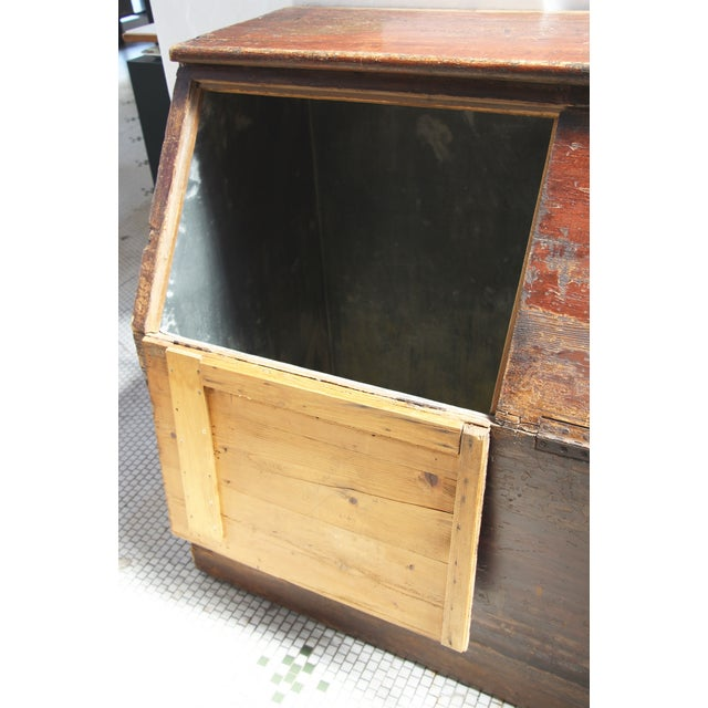 19th-C. French Flour Bin - Image 7 of 8