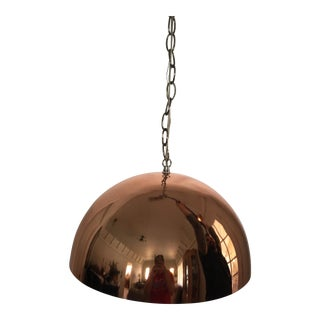 Mod 1960s Copper Hanging Lamp