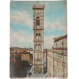 'Il Campanile di Giotto' Hand Tinted Photograph