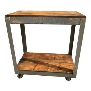Rustic Vintage Bar Cart