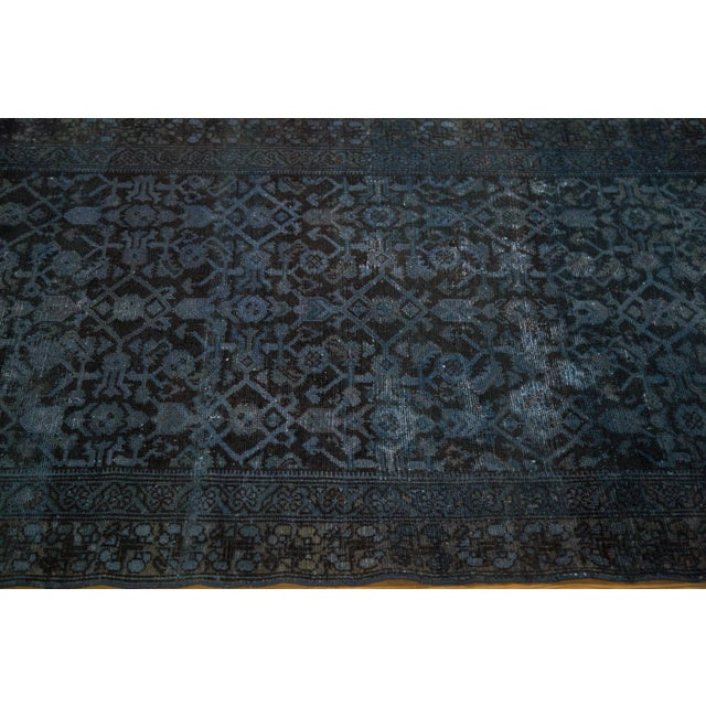 Hand-Knotted Overdyed Runner Rug - 3' x 19' - Image 8 of 10