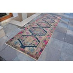 Image of Antique Persian Runner Rug - 3′2″ × 9′11″