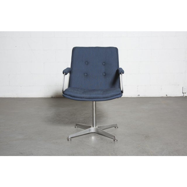 Image of Artifort Office Chair - Aluminum Frame Navy