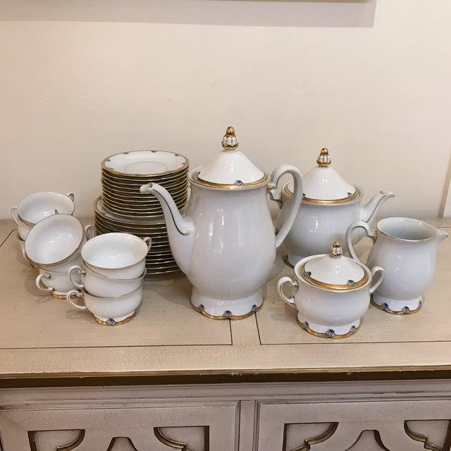 Image of 1920s Royal Tettau Coffee Tea & Dessert Set - 36 Pieces