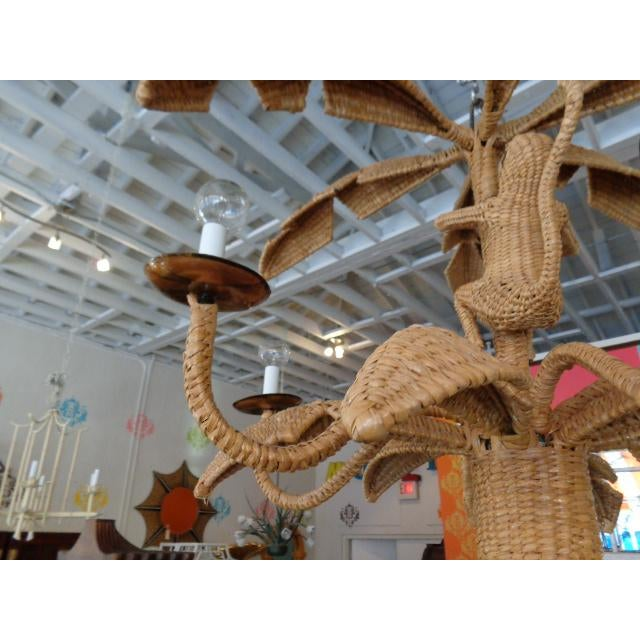 Mario Lopez Torres Palm Tree Monkey Chandelier - Image 2 of 6