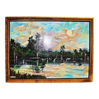 Florida Higwayman Painting, M. Sears