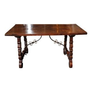 Spanish Baroque Trestle Table