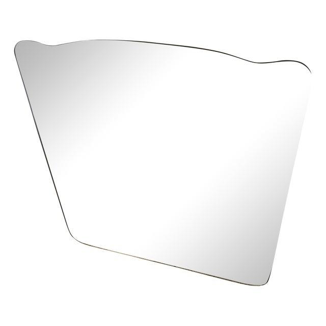 Image of Frameless Vintage Mirror