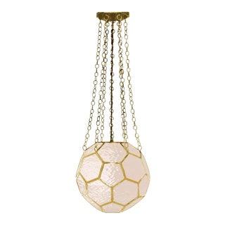 Contemporary Honeycomb Lantern