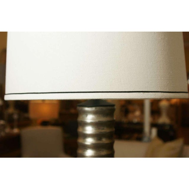 One Silvered Bee Hive Lamp - Image 4 of 6