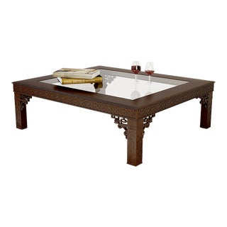 Ralph Lauren Large Coffee Table From the Conservatory Garden Collection - Beautiful Fretwork