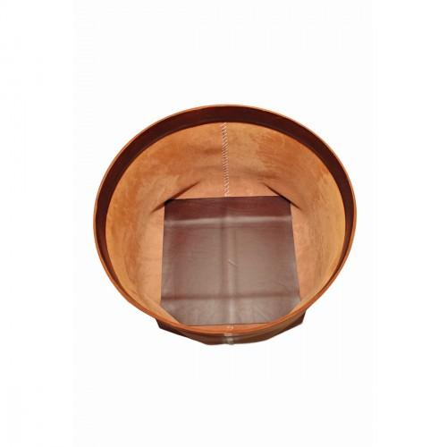 Image of Barneys New York Arte & Cuoio Teso Leather Basket