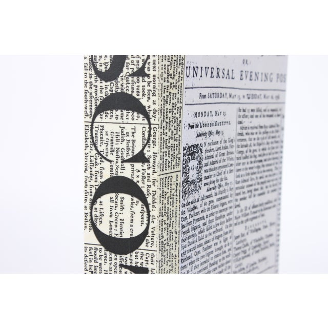 Image of Image Collection Single Newsprint Scotch