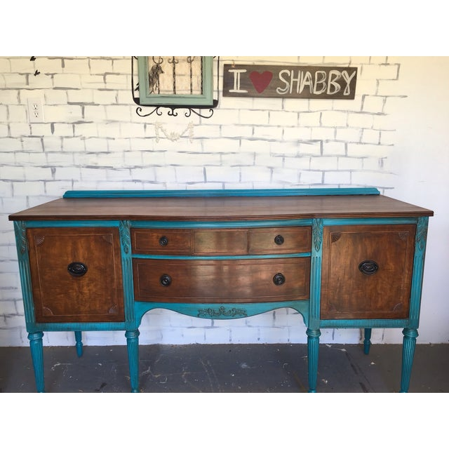1900's European Antique Sideboard - Image 2 of 9