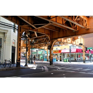 """Under the L Tracks"" Photograph - 24"" x 18"""