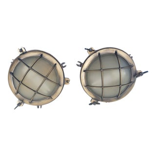 Urban Archaelogy Marine Portal Wall Lights - A Pair