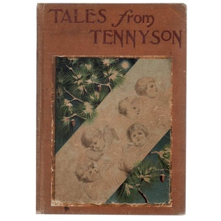 """1902 """"Tales From Tennyson"""" Hardcover Book"""
