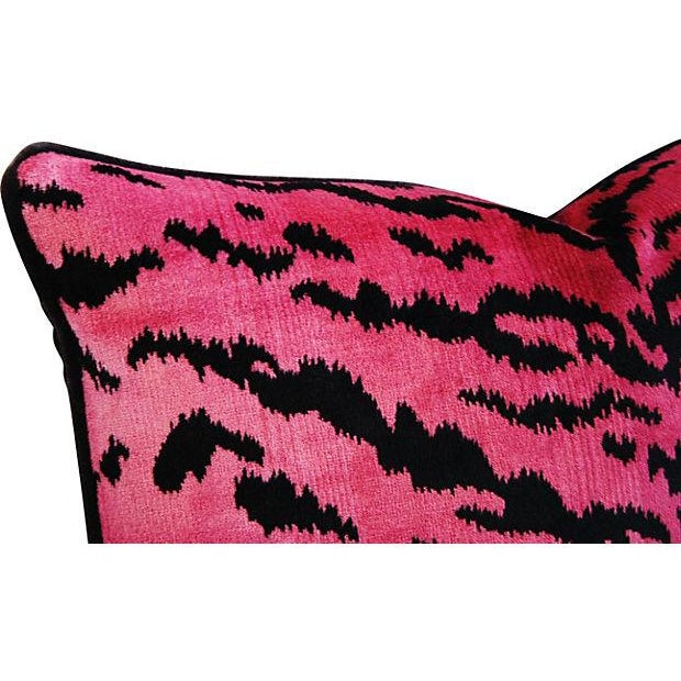 Image of Custom Scalamandre Le Tigre And Mohair Pillow