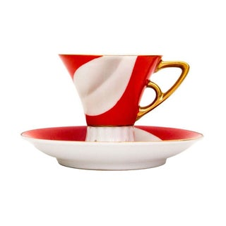 Japanese Demitasse Cup & Saucer