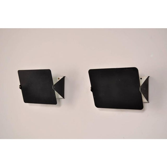 Pair of Charlotte Perriand CP1 Wall Sconces for Steph Simon, France, circa 1960 - Image 2 of 7