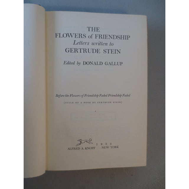 Image of Flowers of Friendship, Letters to Gertrude Stein