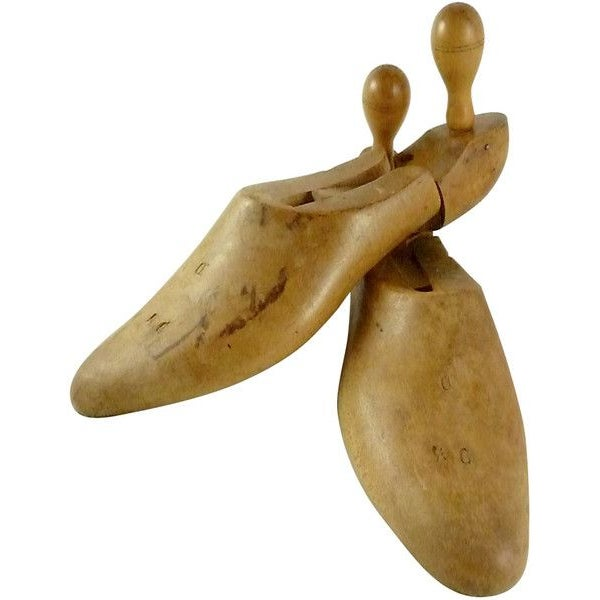 Image of Vintage Wooden Shoe Lasts