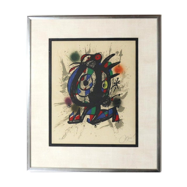 1960s Joan Miró Lithograph - Image 1 of 5