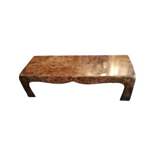 Burl Color Ming Coffee Table