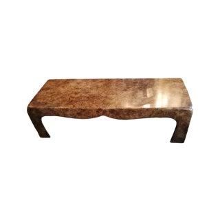 Burl Ming Coffee Table