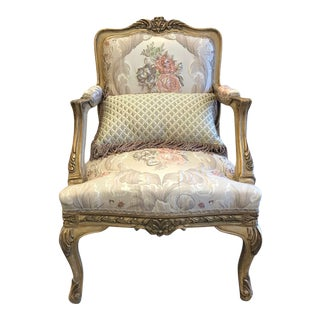 French Style Gilded Chair