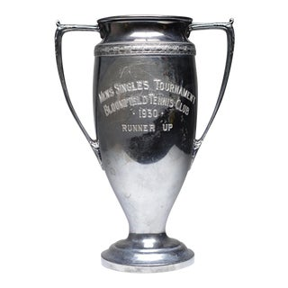 Vintage Silver Plated Trophy, c. 1930