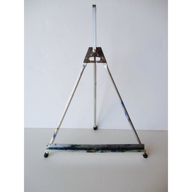 Folding Easel & Original NYC Subway Photograph - Image 10 of 11